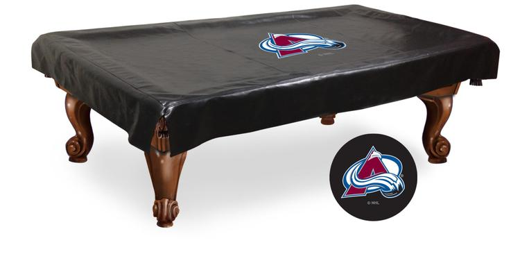 Colorado Avalanche Billiard Table Cover [Item # BCV8ColAva]