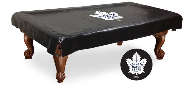 Toronto Maple Leafs Billiard Table Cover [Item # BCV8TorMpl]