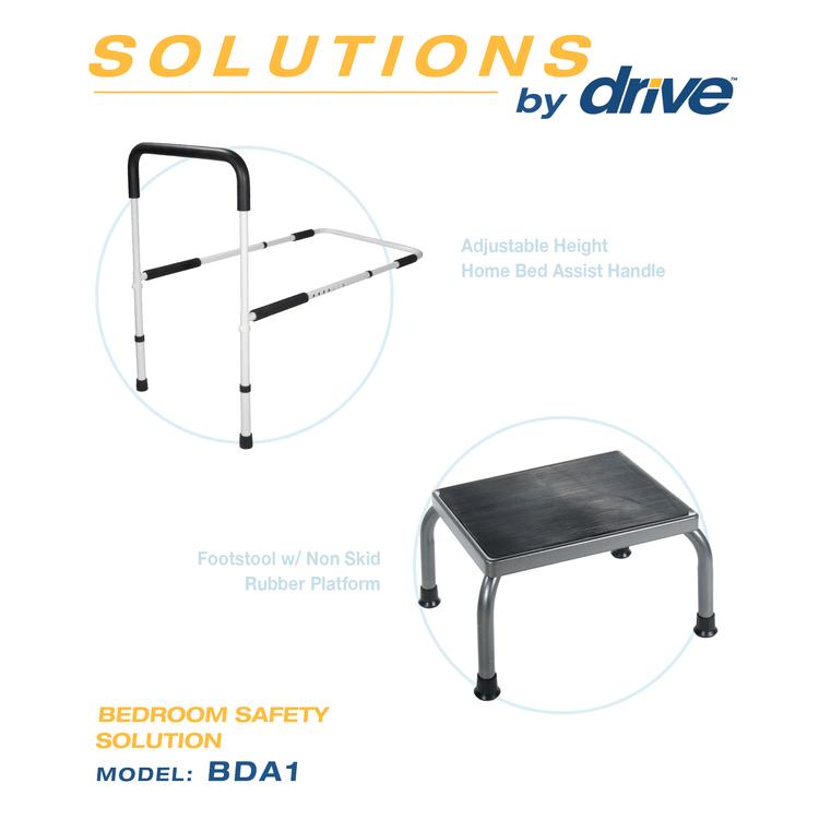 Bedroom Safety Solution Foot Stool [Item # BDA1]
