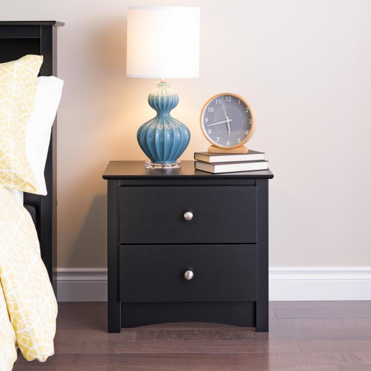Prepac Sonoma 2 Drawer Night Stand