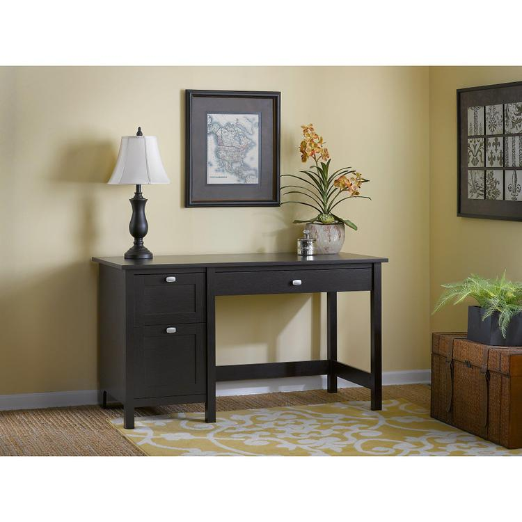 Broadview Computer Desk With 2 Drawer Pedestal