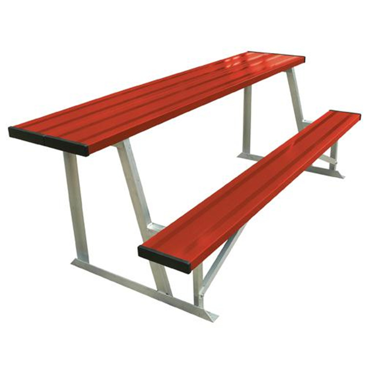 BSN Sports 7.5' Scorer's Table With Bench (colored)