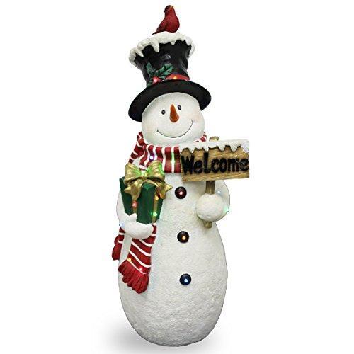 Pre-Lit Snowman Decoration