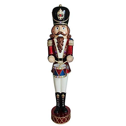 National Tree Pre-Lit Animated & Music Playing Nutcracker Decoration