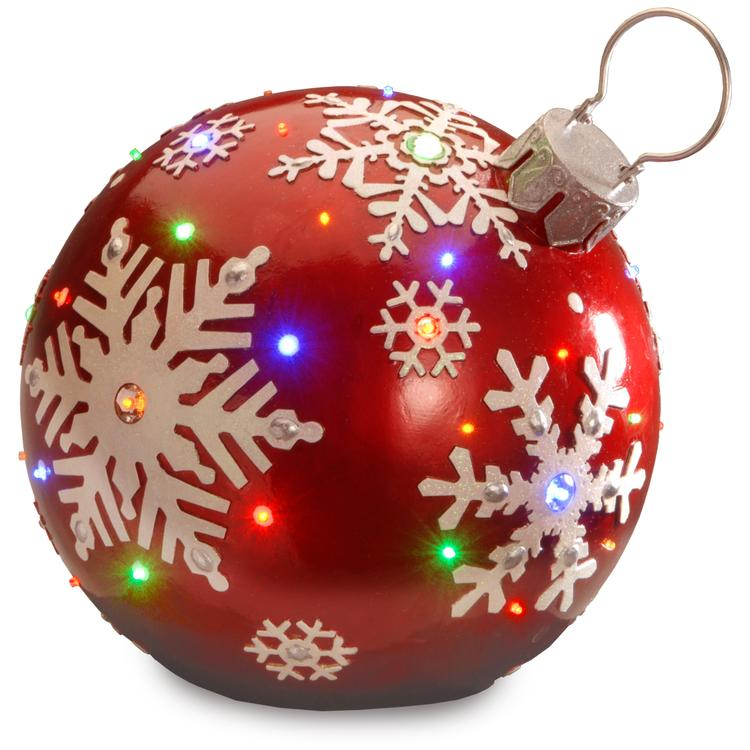 National Tree Pre-Lit Ball Ornament Decoration