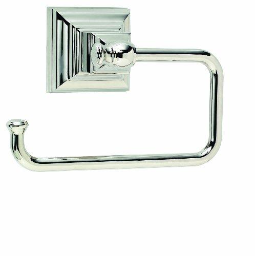 Markham Single Post Tissue Roll Holder in Polished Nickel