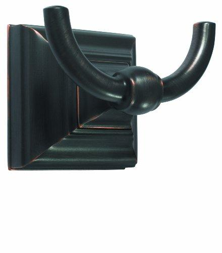 Markham Double Prong Robe Hook in Oil-Rubbed Bronze [Item # BH26512ORB]