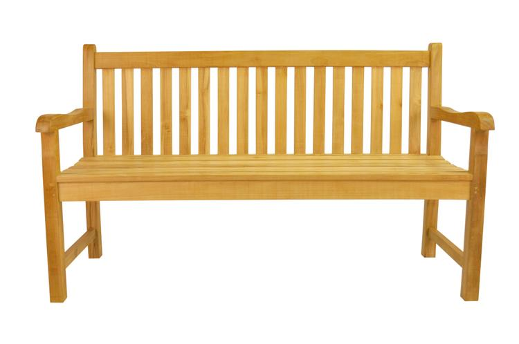 Anderson Teak No Cushion Classic 3-Seater Bench