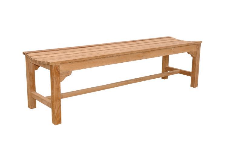 Anderson Teak Hampton 3-Seater Backless Bench
