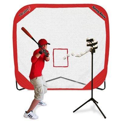 Heater Sports Big League Drop Toss & Spring Away Pop-Up Net