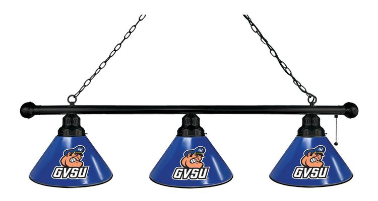 Grand Valley State 3 Shade Billiard Light