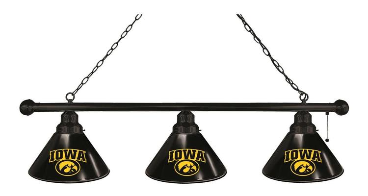 Iowa 3 Shade Billiard Light