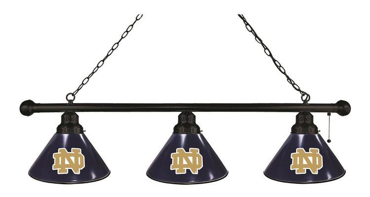 Notre Dame 3 Shade Billiard Light