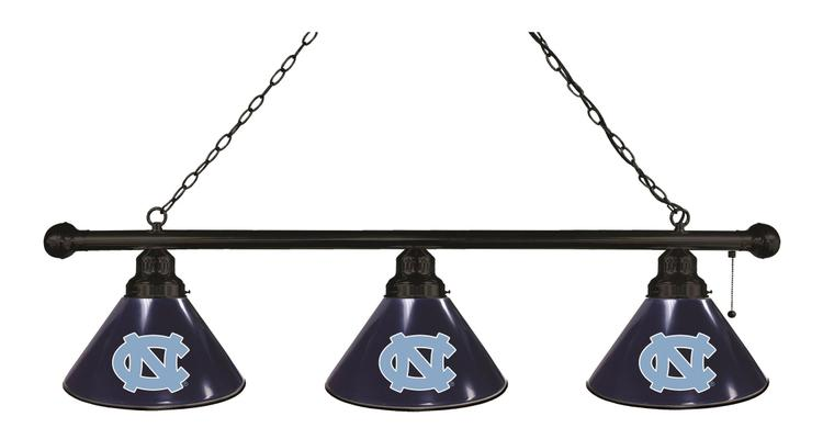 North Carolina 3 Shade Billiard Light