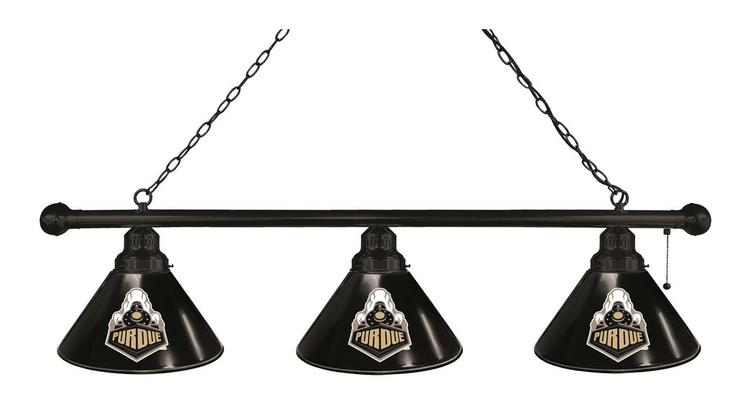 Purdue 3 Shade Billiard Light
