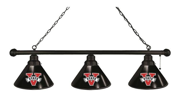 Valdosta State 3 Shade Billiard Light