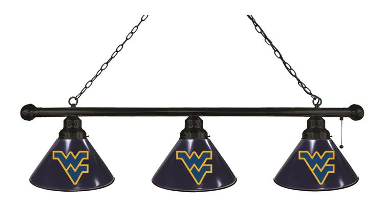 West Virginia 3 Shade Billiard Light