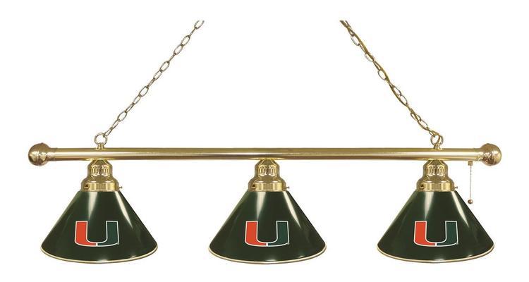 Miami (FL) 3 Shade Billiard Light