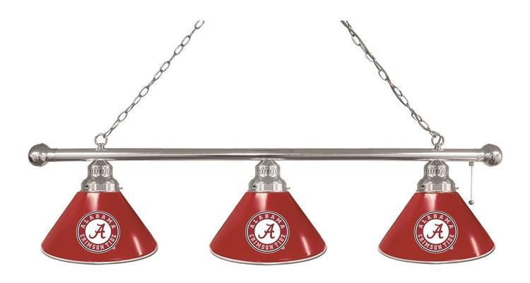 Alabama 3 Shade Billiard Light