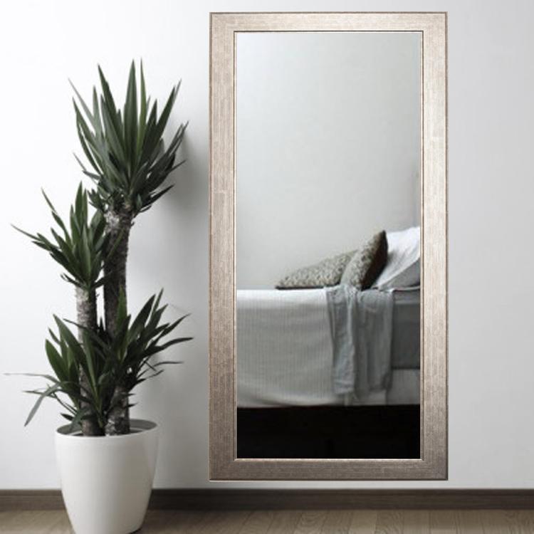 Modern Style Subway Leaning Floor Mirror