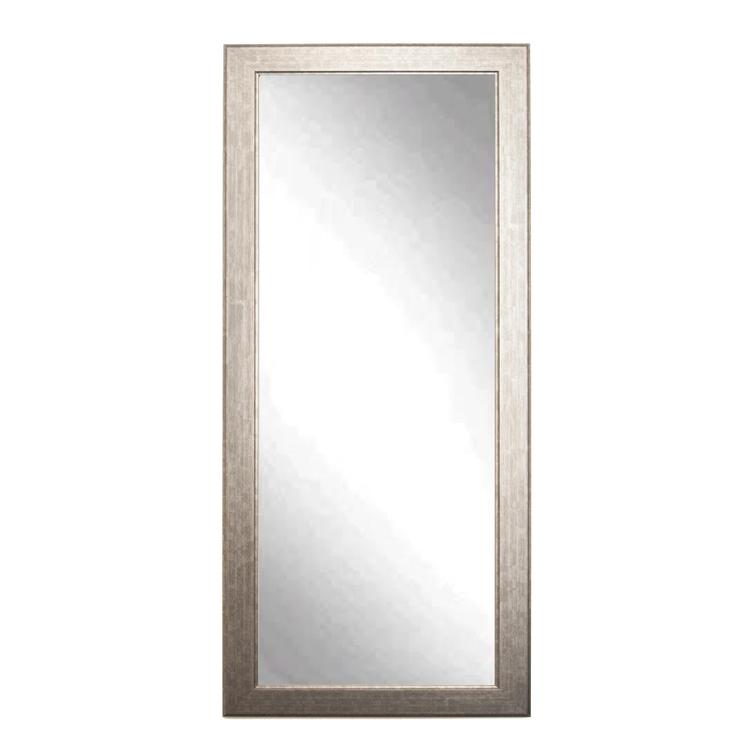 Brandtworks Modern Style Subway Leaning Floor Mirror From