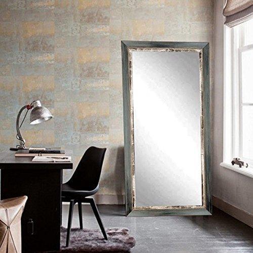 Weathered Harbor Dressing Leaning Floor Vanity Wall Mirror