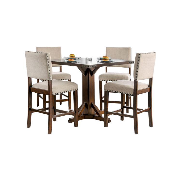 Benzara Glenbrook Counter Height Dining Table