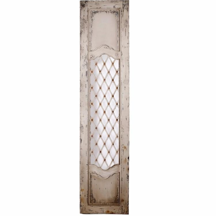 Benzara French Country Accented Decorative Wood Panel