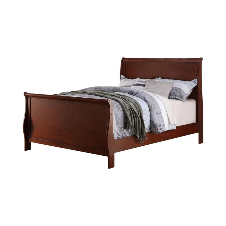 Benzara Full Wooden Bed [Item # BM168406]