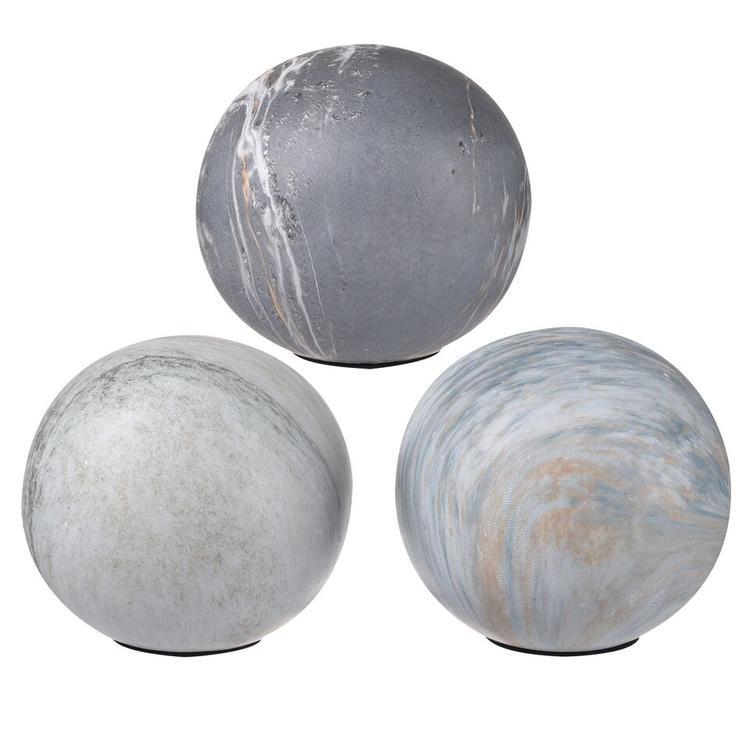 Decorative Balls - Set Of 3