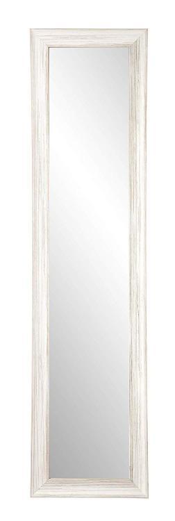 BrandtWorks Coastal Whitewood Nautical Full Length Dressing Leaning Floor Vanity Wall Mirror