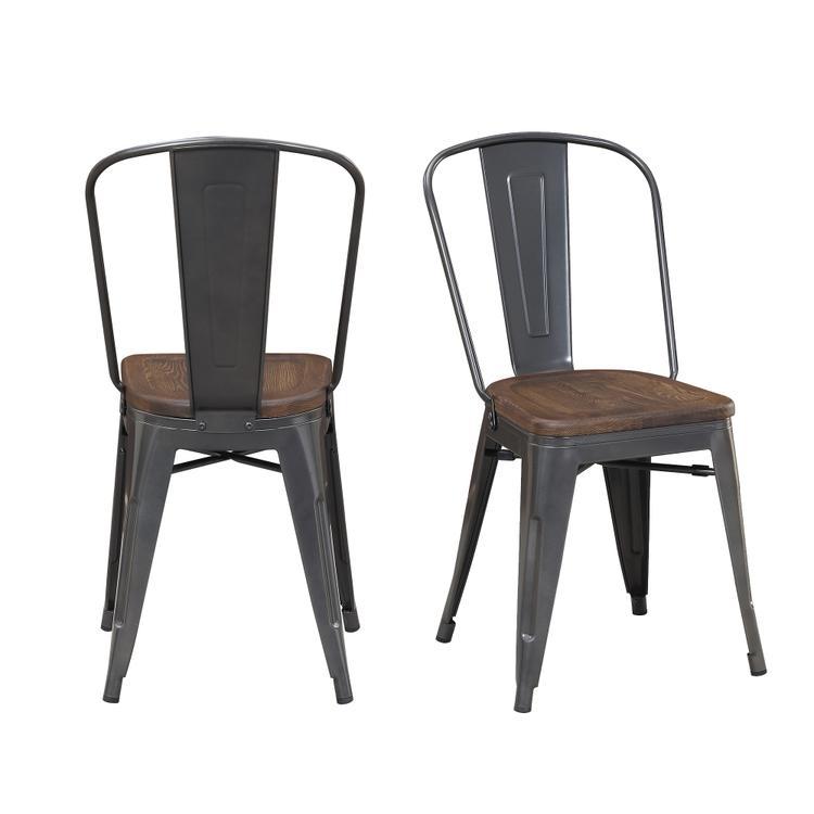 Picket House Furnishings Davis Metal Chair Set [Item # BMY100CHE]