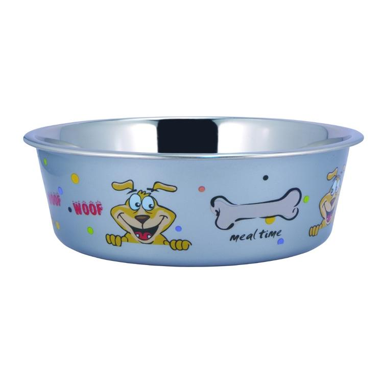 Sneaky Dog Design Stainless Steel Fusion Bowl
