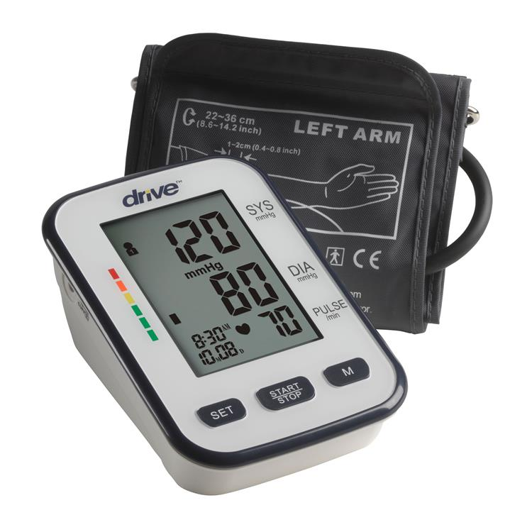 Drive Medical Automatic Deluxe Blood Pressure Monitor