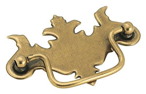 Allison Value 3 in (76 mm) Center-to-Center Burnished Brass Cabinet Pull