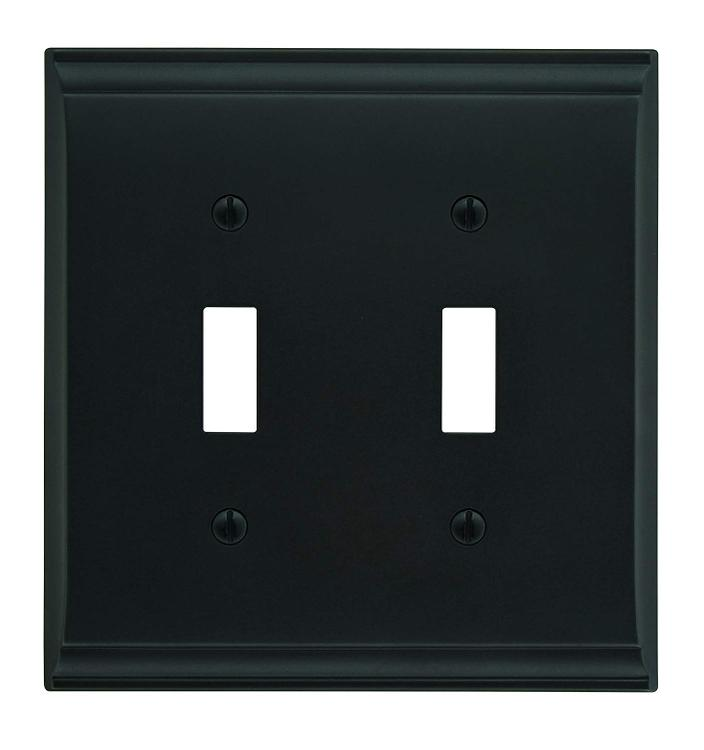 Amerock Candler 2 Toggle Wall Plate