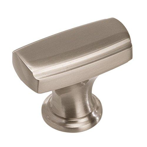 Highland Ridge 1-3/8 in (35 mm) Length Satin Nickel Cabinet Knob