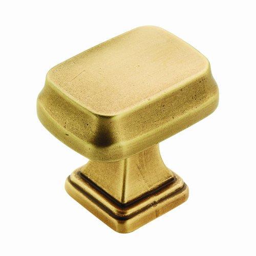 Revitalize 1-1/4 in (32 mm) Length Gilded Bronze Cabinet Knob [Item # BP55340GB]