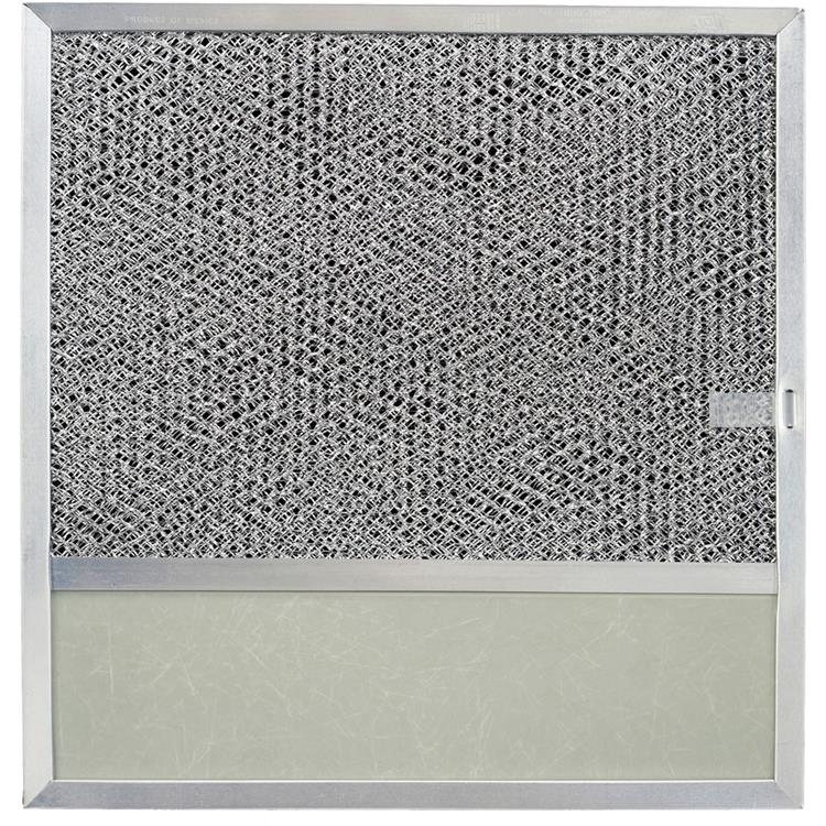 Broan Ducted Aluminum Replacement Filter with Charcoal Pad and Light Lens