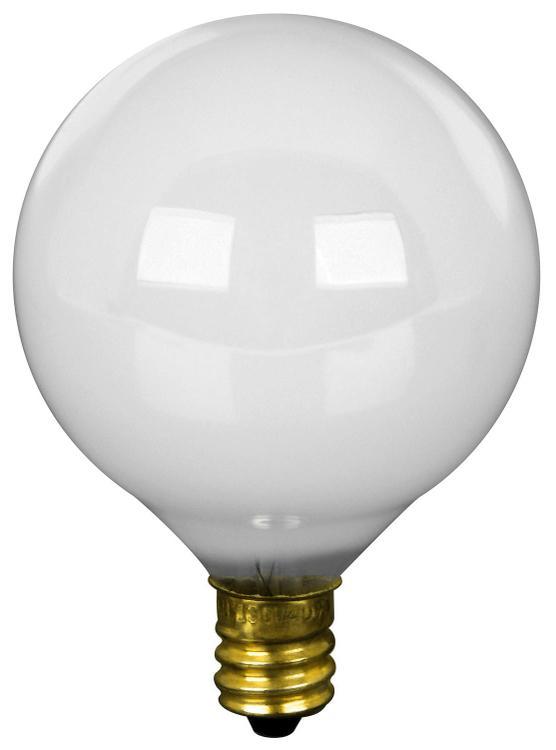 Bp60G16-1/2W Globe 60W White