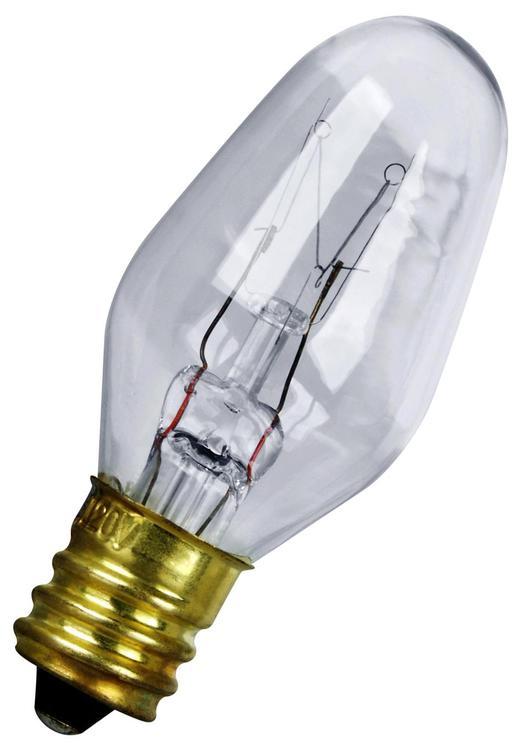 Feit Electric Bp7C7/4 Bulb Nite Clr 7W-4Pk