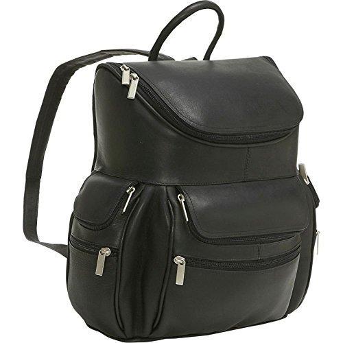 Multi Pocket Backpack W/Laptop Sleeve