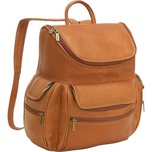 Multi Pocket Backpack W/Laptop Sleeve [Item # BP-200-TN]