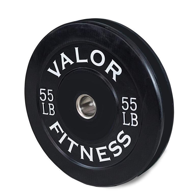 Valor Fitness 55Lb Bumper Plate