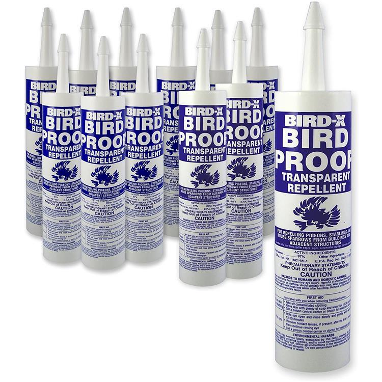 Bird Proof Gel, 12 Pack