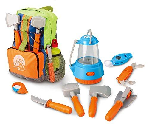 Little Explorer Camping Backpack 9-Piece Play Set
