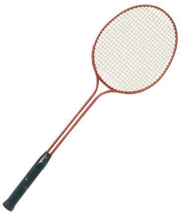 Double Steel Frame Badminton Racket