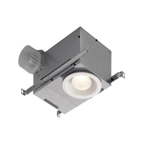 Broan 70 CFM Recessed Bath Fan/Light, LED Lighting, ENERGY STAR Qualified