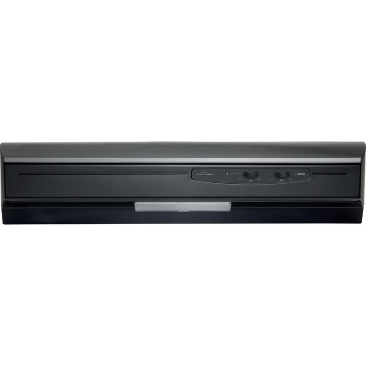 Energy Star Allure (QSE1) Series 30 In. Ducted Under Cabinet Range Hood - Black