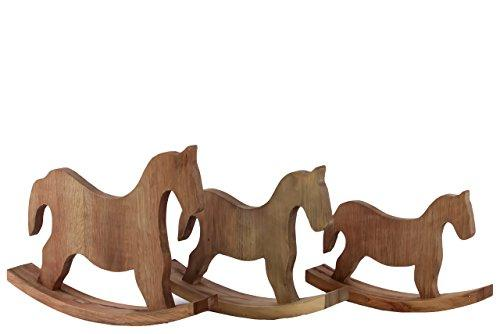Classy Wooden Rocking Horse Set Of Three